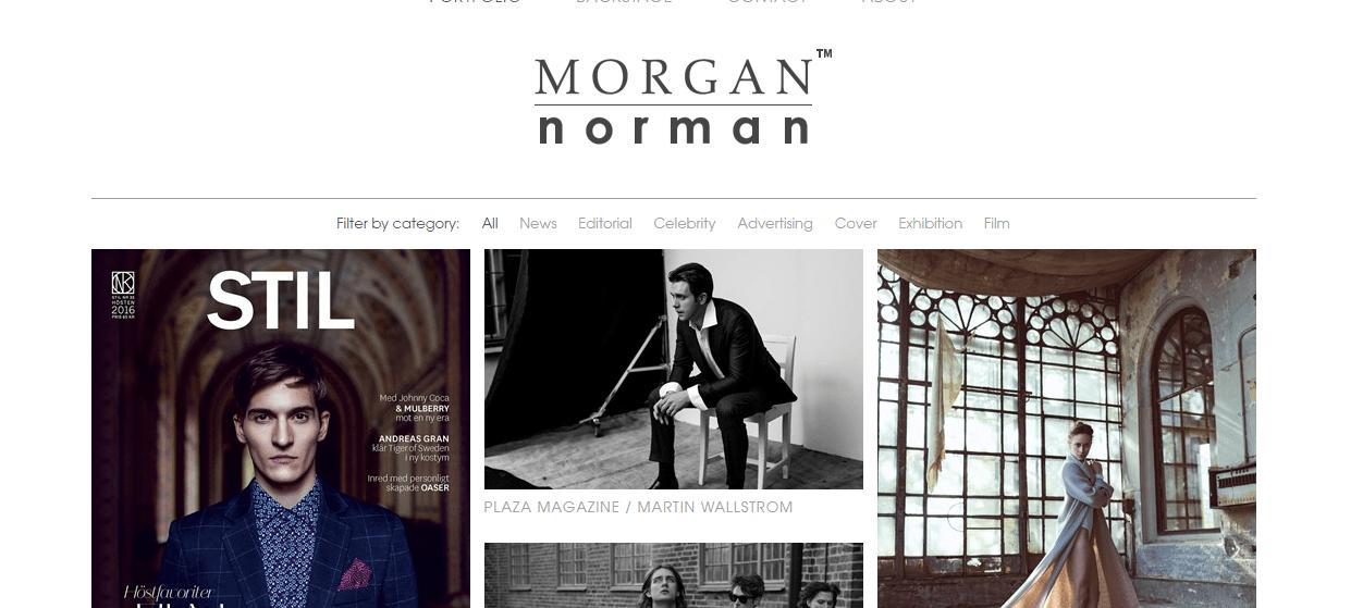 Одностраничник Моргана Нормана
