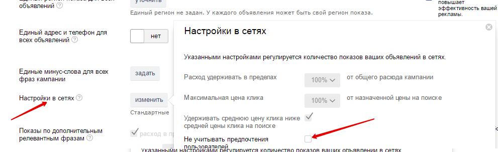 Правильная настройка кампании в Рекламной сети Яндекс