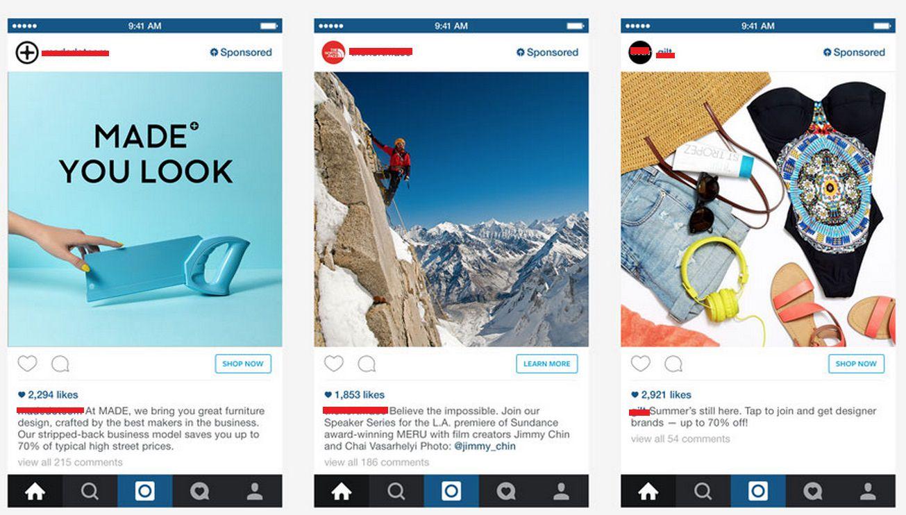Как выглядит Таргетированная реклама в Инстаграме