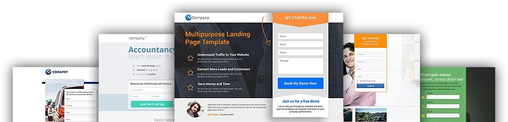 Шаблоны Landing page на WordPress