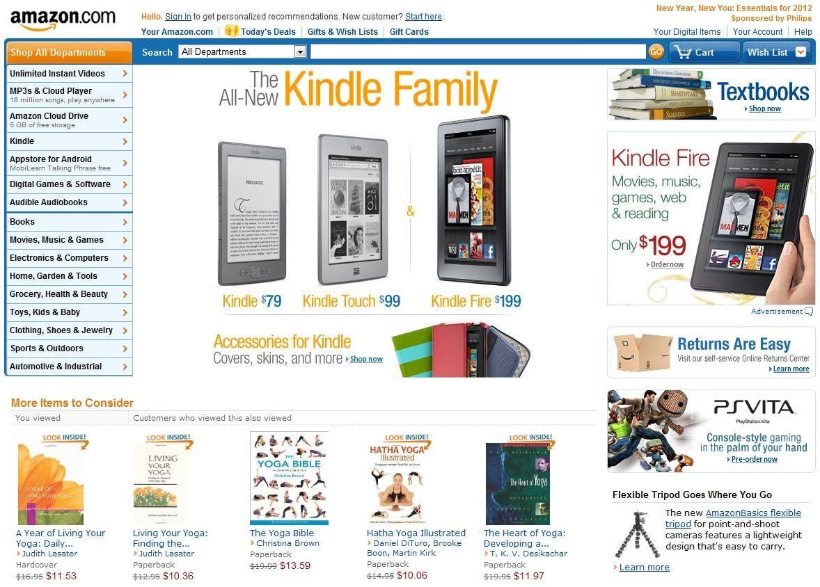 Сервис Amazon