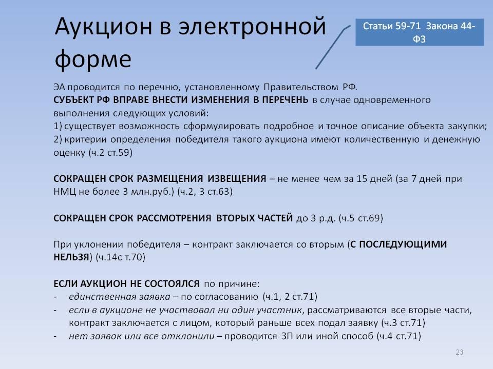 ФЗ 44 о госзакупках — последняя редакция 2021