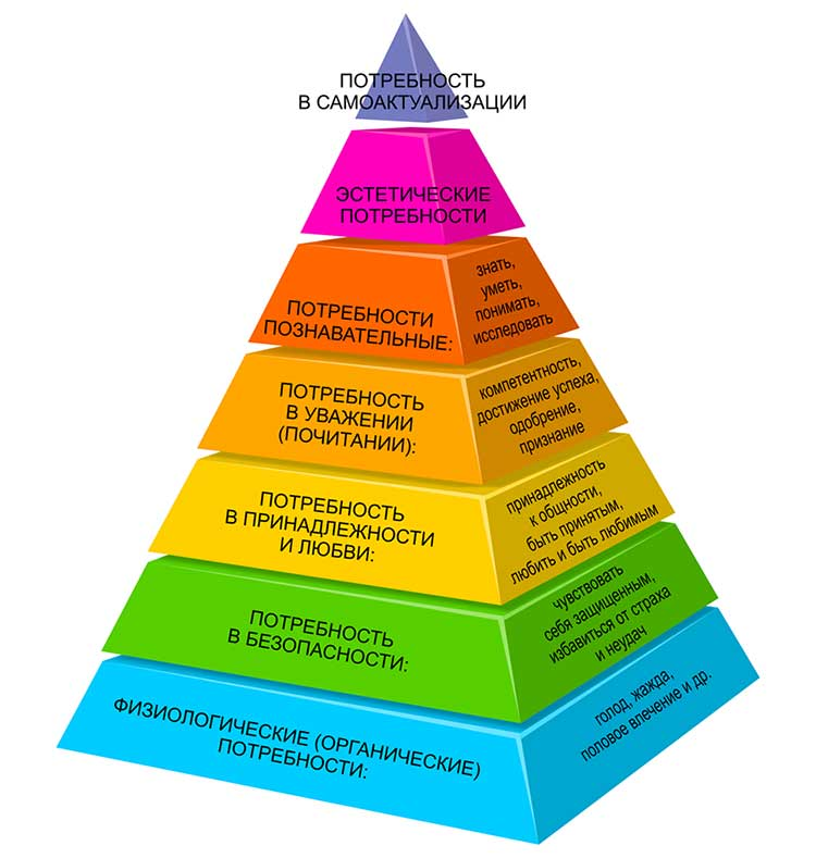 Пирамида Маслоу — что это такое, основа