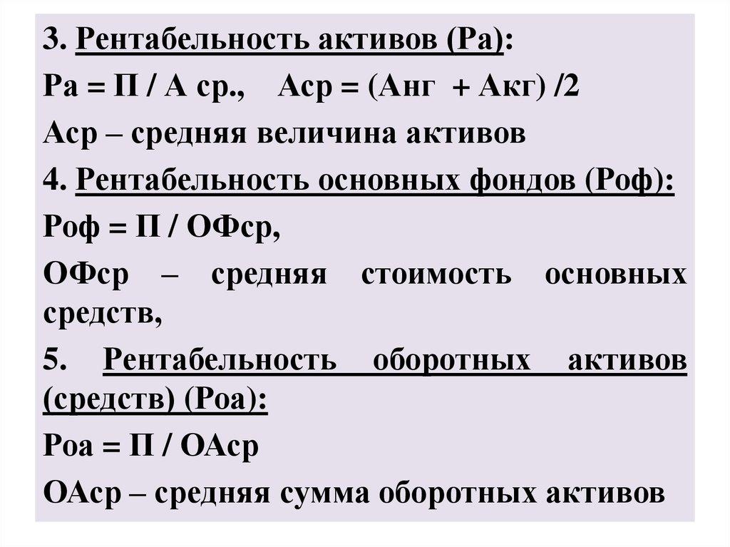 Как рассчитать рентабельность – пример вычисления